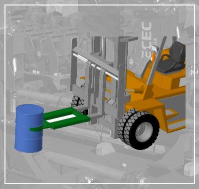 FT-D0151 Manipulador de Barril